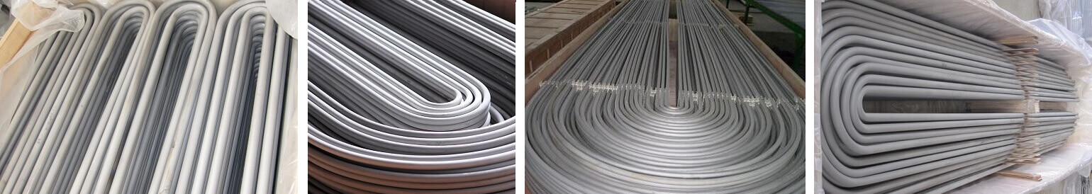 stainless steel u bend tubing for heat exchanger